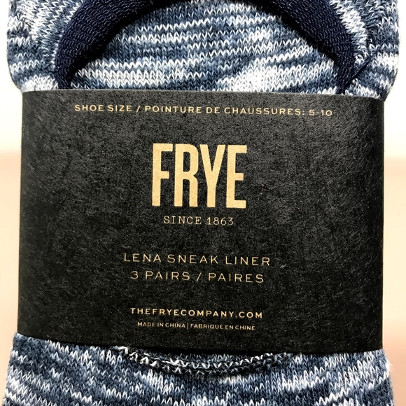 Frye No Show Women's Socks Blue